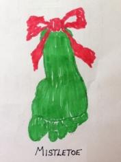 Mistletoe - LG Drawing