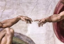 Michael-angelo God & Adam