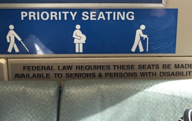 BART special seating
