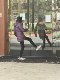 Exercising with your reflection