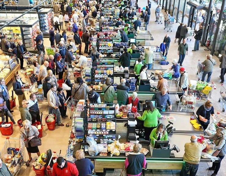 market checkout