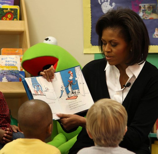 Reading Aloud - Michelle Obama